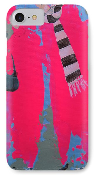 Paris Promenade IPhone Case by Marina Gnetetsky
