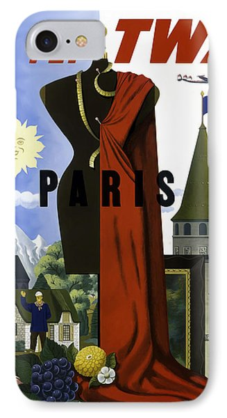 Paris Twa IPhone Case