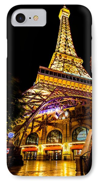 Paris Under The Tower IPhone 7 Case by Az Jackson