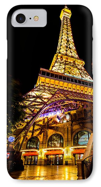 Paris Under The Tower IPhone Case