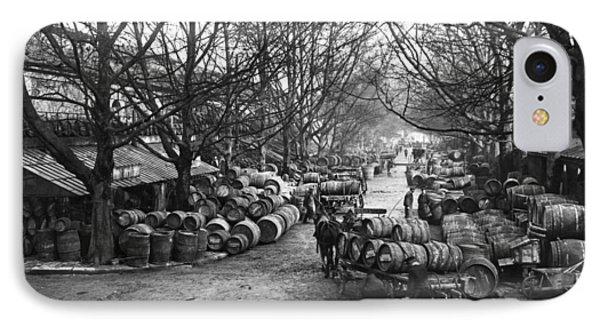 Paris Wine Market, C1900 IPhone Case by Granger