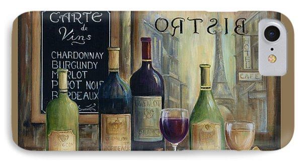 Paris Wine Tasting IPhone Case by Marilyn Dunlap