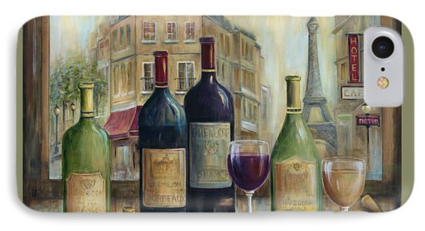 Paris Wine Tasting With A View IPhone Case