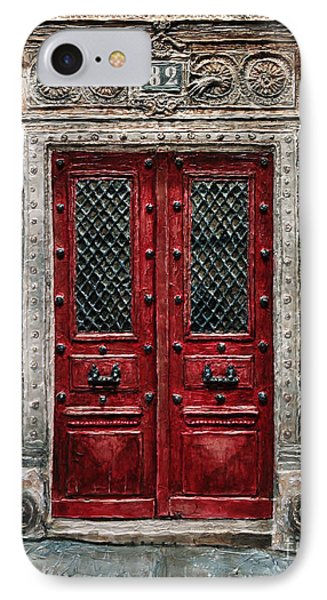 Parisian Door No.82 IPhone Case