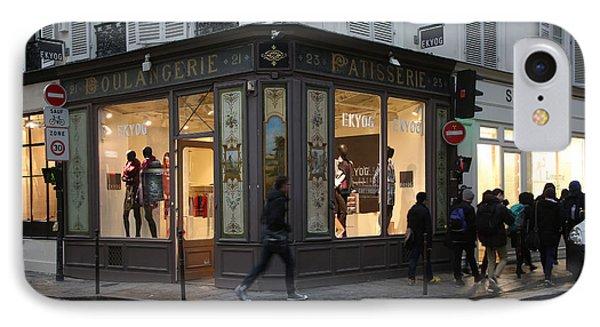 Parisian Evolution Phone Case by Randi Shenkman
