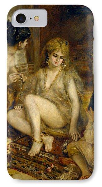 Parisiennes In Algerian Costume Or Harem Phone Case by Pierre-Auguste Renoir