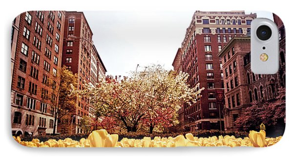 Park Avenue In The Spring  IPhone Case