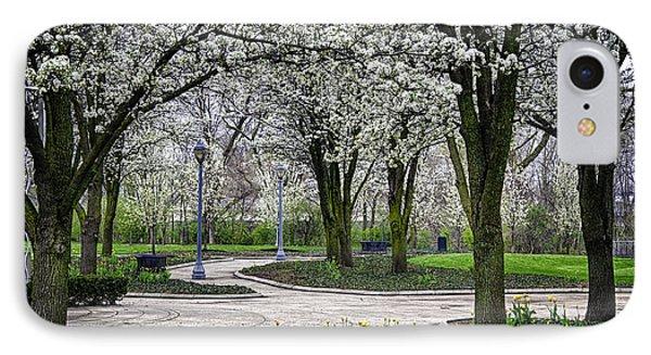 Park Blossoms IPhone Case