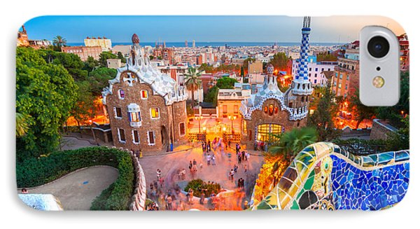 Park Guell In Barcelona - Spain IPhone Case