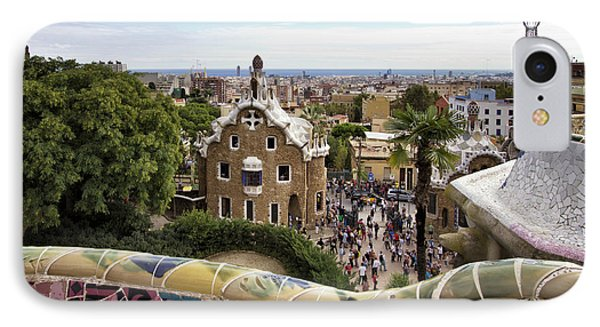 IPhone Case featuring the photograph Park Guell by Yelena Rozov