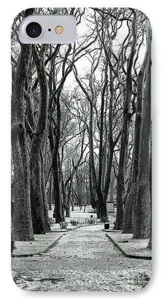 Park Path Phone Case by John Rizzuto
