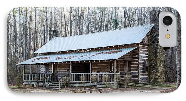 Park Ranger Cabin IPhone Case by Charles Hite