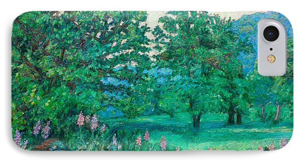 IPhone Case featuring the painting Park Road In Radford by Kendall Kessler