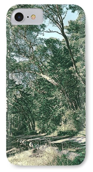 Park Road IPhone Case by Tobeimean Peter