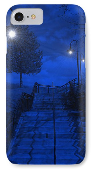IPhone Case featuring the photograph Park Stairs by Michael Rucker