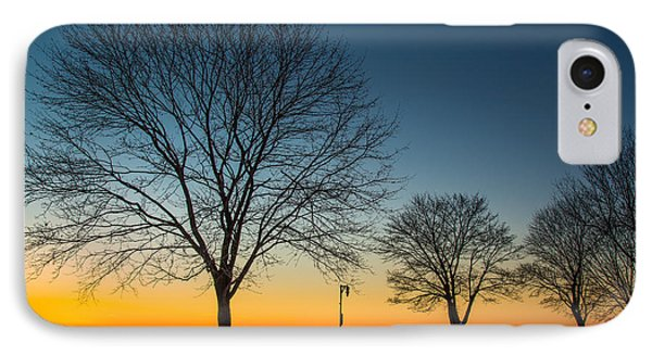 Park Sunset IPhone Case