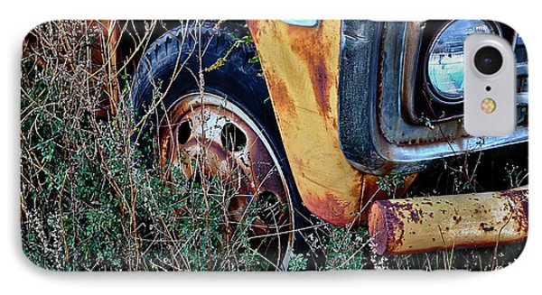 IPhone Case featuring the photograph Parked Fuel Oil Truck by Greg Jackson