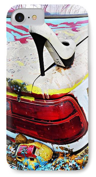 Parked On A New York Street 3 Phone Case by Sarah Loft