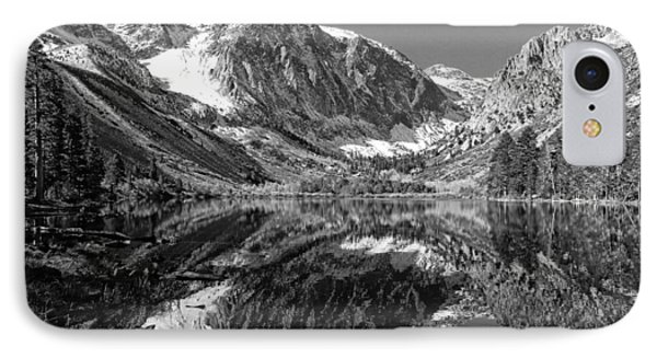 Parker Lake Black And White IPhone Case by Scott McGuire