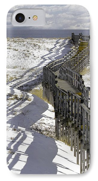 Parker River National Wildlife Refuge Boardwalk Plum Island IPhone Case by Betty Denise