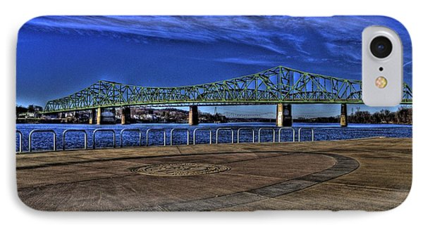 IPhone Case featuring the photograph Parkersburg Point Park by Jonny D