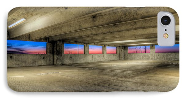 Parking Deck Sunset IPhone Case