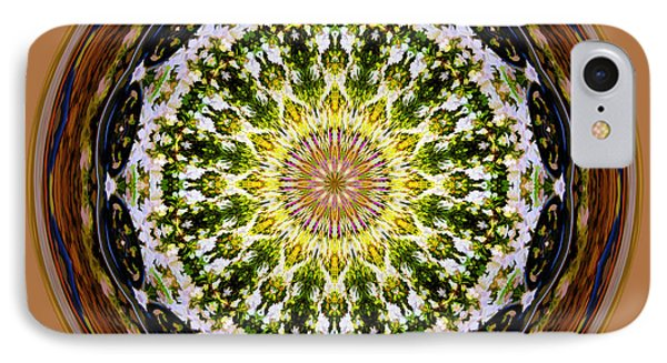 Parkside Mandala IPhone Case by Bill Barber