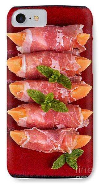 Parma Ham And Melon Phone Case by Jane Rix