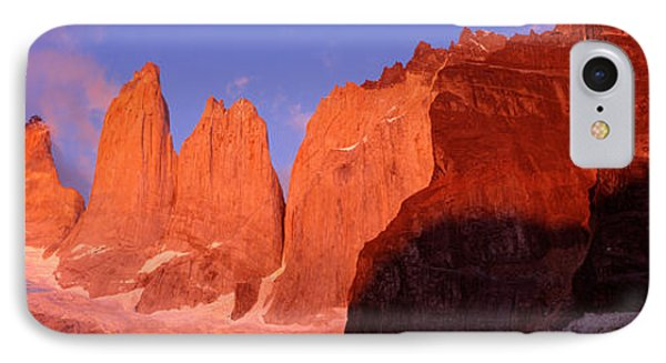 Parque National Torres Del Paine IPhone Case by Panoramic Images