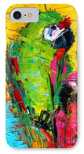 Parrot Lovers IPhone Case by Mona Edulesco