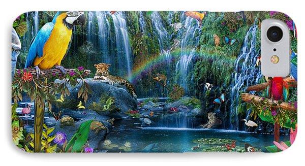 Parrot Tropics IPhone Case by Alixandra Mullins
