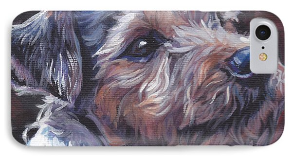 Parson Russell Terrier IPhone Case by Lee Ann Shepard