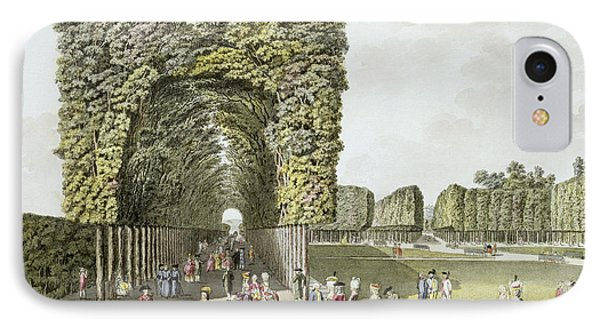 Part Of The Garden At Ausgarten Phone Case by Johann Ziegler