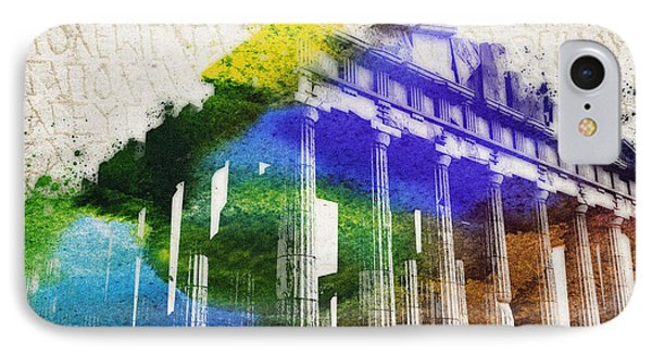 Parthenon Phone Case by Aged Pixel