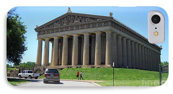 Parthenon In Nashville IPhone Case