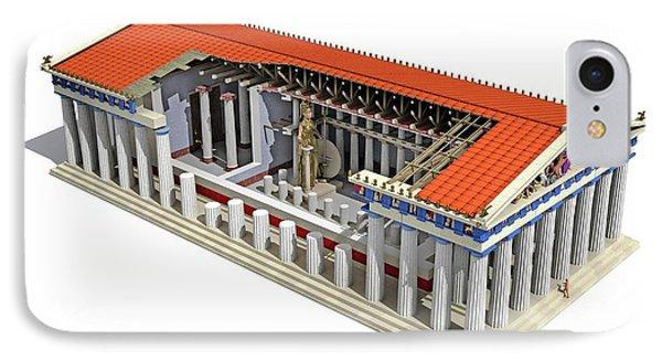 Parthenon IPhone Case by Jose Antonio Pe�as