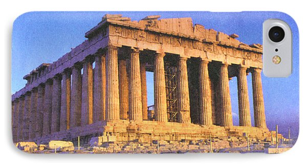 Parthenon IPhone Case by Troy Caperton