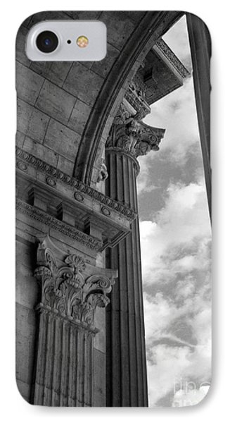 Cornices And Columns IPhone Case by Jennifer Apffel