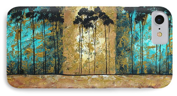 Parting Of Ways By Madart Phone Case by Megan Duncanson