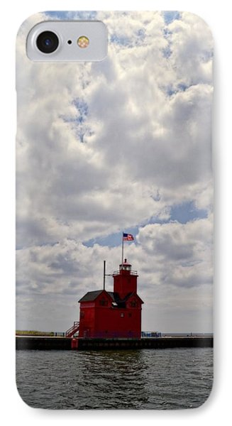 Partly Cloudy IPhone Case by Michelle Calkins