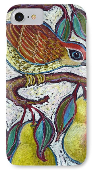 Partridge In A Pear Tree 3 IPhone Case
