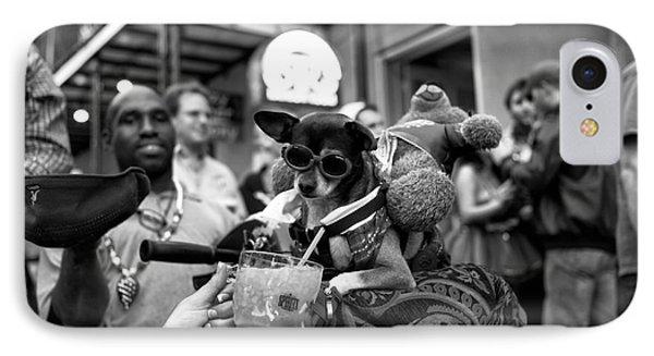 Party Dog On Bourbon Street Mono IPhone Case