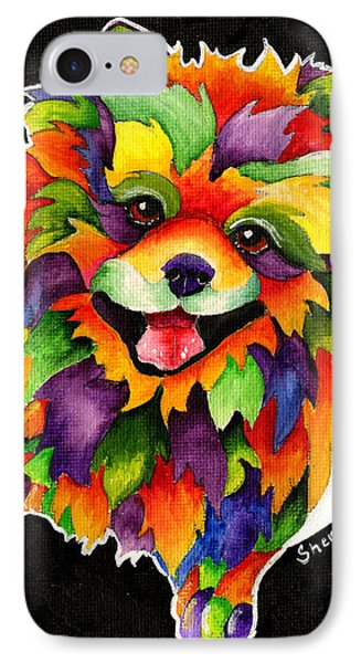 Party Pom IPhone Case by Sherry Shipley