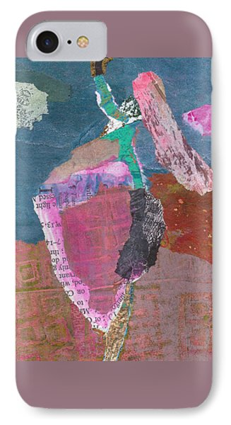 IPhone Case featuring the mixed media Pas De Deux by Catherine Redmayne