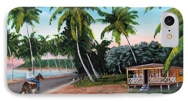 Paseo Por La Isla IPhone Case by Luis F Rodriguez