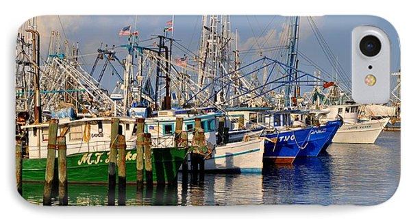 Pass Christian Harbor IPhone Case