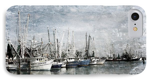 Pass Christian Harbor Phone Case by Joan McCool