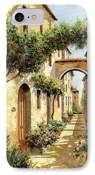 Street iPhone 7 Case - Passando Sotto L'arco by Guido Borelli