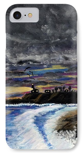 Passing Storm IPhone Case by Gary Brandes
