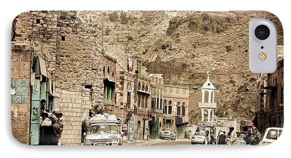 Passing Through A Village IPhone Case by Charuhas Images